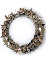 No.116 silver wreath